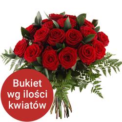 Bukiet 18 róż